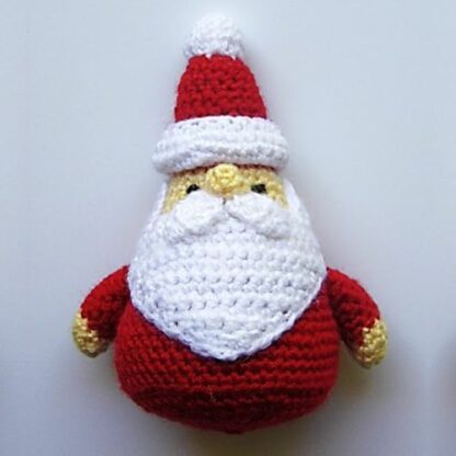 Patrón adorno árbol Santa Claus