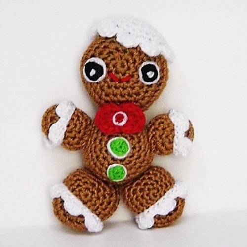 Cómo hacer adorables amigurumis para navidad - Amigurumi navideño ...   500x500