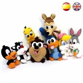 Patrones Amigurumi Baby Looney Tunes