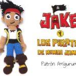 Patrón Amigurumi - Jake y los Piratas de Nunca Jamás