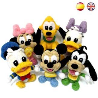 Patrones Amigurumi Baby Disney