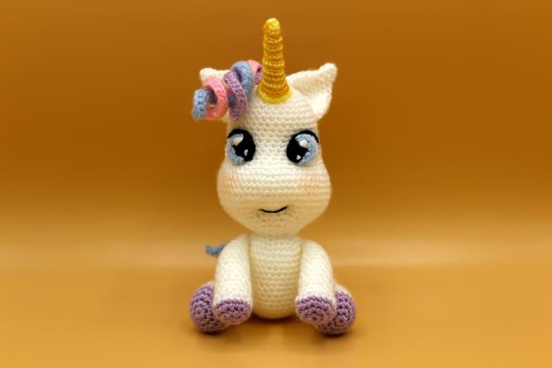 Cómo hacer adorable unicornio amigurumi paso a paso | Amigurumi ... | 533x800