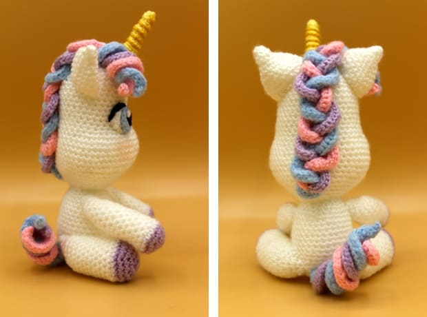 CROCHET PATTERN in English and Spanish - Mimi the Friendly Unicorn ... | 460x620