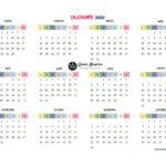 Calendario Organizador 2020 (para imprimir)