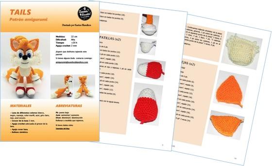 Patrón en pdf para tejer a Tails