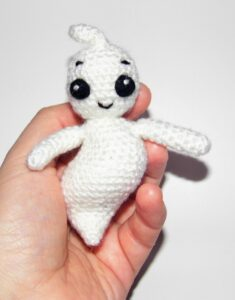 ghost amigurumi pattern