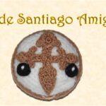 Patrón Amigurumi Tarta de Santiago