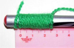 Cómo medir el grosor de la lana